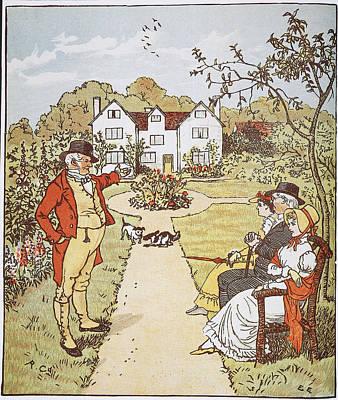 Caldecott Illustration Art Print
