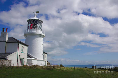 Photograph - Caldey Island Lighthouse by Jeremy Hayden