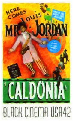 Jordan Painting - Caldonia by Lanjee Chee