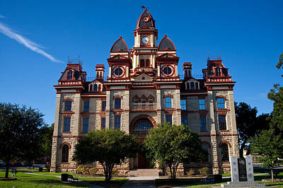 Texas Photograph - Caldwell County Courthouse by Mark Weaver
