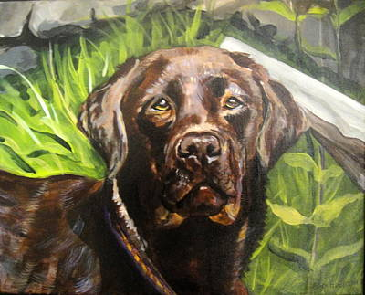 Painting - Cale by Edith Hunsberger