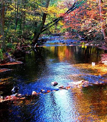 Art Print featuring the photograph Caledonia In Autumn by Angela Davies