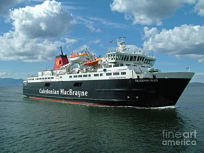 Photograph - Caledonian Isles - Calmac Ferry by Phil Banks