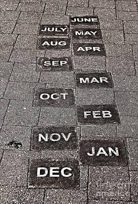 Photograph - Calendar Walk by Ethna Gillespie