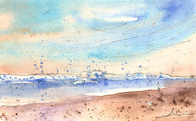 Painting - Caleta De Famara 03 by Miki De Goodaboom