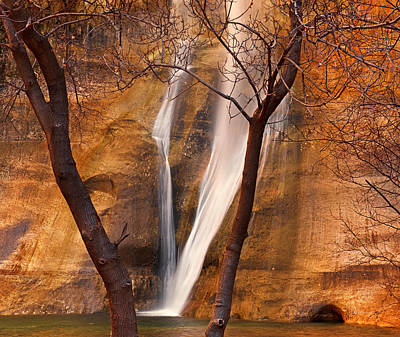 Photograph - Calf Creek Falls by Leland D Howard