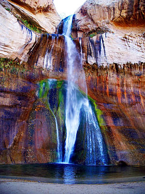 Photograph - Calf Creek Falls by Tranquil Light  Photography