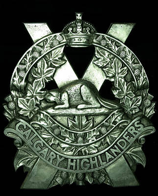 Photograph - Calgary Highlanders by Phil Rispin