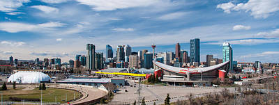 Photograph - Calgary Skyline by Guy Whiteley