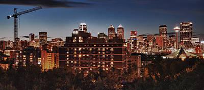 Calgary Photograph - Calgary South Skyline by Rob Moses