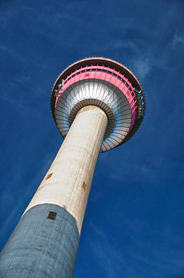 Photograph - Calgary Tower by Guy Whiteley