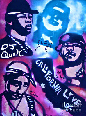 Conscious Painting - Cali Love by Tony B Conscious