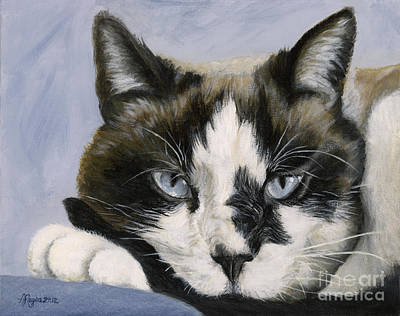 Painting - Calico Cat With Attitude by Amy Reges