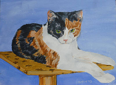Painting - Calico II by Bryan Bustard