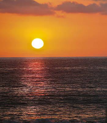 Caliente Sunset    Art Print by Gilbert Artiaga