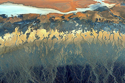 Death Valley Photograph - California Aerial by Tanja Ghirardini