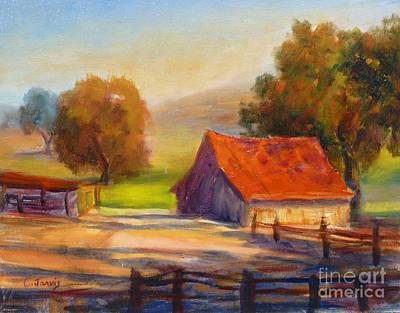 California Barn Art Print