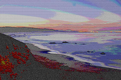 Photograph - California Beach by Paul Miller