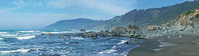 Photograph - California Beaches 3 by Harold