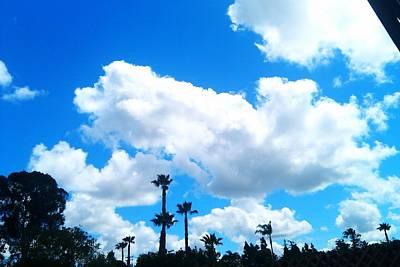 California Clouds Art Print by Susan Mumma