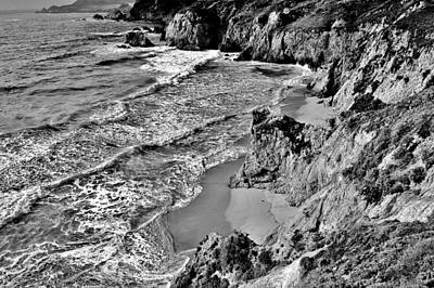 Photograph - California Coast by Benjamin Yeager