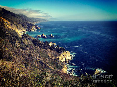 Photograph - California Coast by Colin and Linda McKie