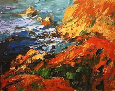 California Coast I Art Print by Brian Simons