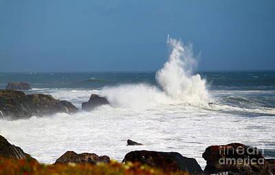 Art Print featuring the photograph California Coast4 by Theresa Ramos-DuVon