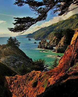Big Sur Photograph - California Coastline by Benjamin Yeager