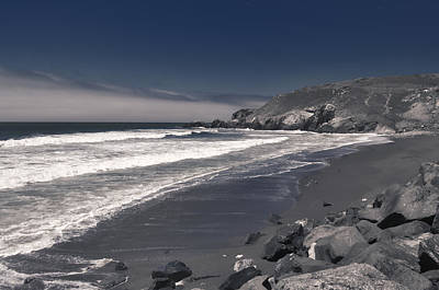 Photograph - California Coastline by Spencer Hughes