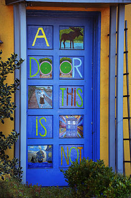 Photograph - California Door Collection 3 by Xueling Zou