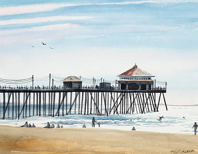 Painting - California Dreamin by Richard Mordecki