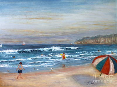Painting - California Dreamin by Tracey Peer