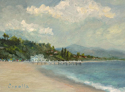 Painting - California Dreamin' On Such A Winter's Day by Jan Cipolla