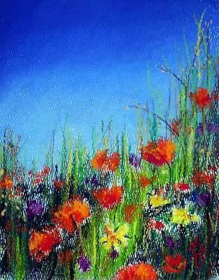 Art Print featuring the pastel California Dreaming by Jodie Marie Anne Richardson Traugott          aka jm-ART