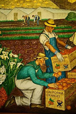 California Farmers Art Print