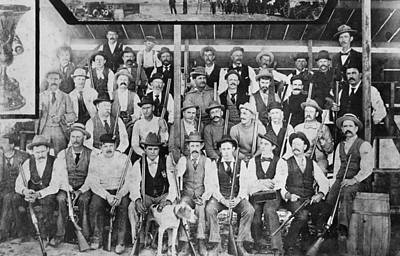 1880 Photograph - California Gun Club by Underwood Archives
