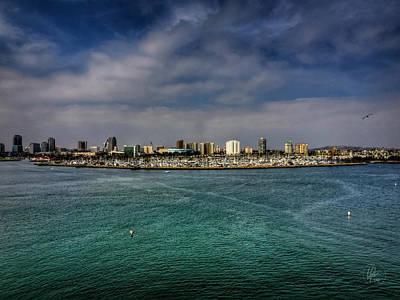 Photograph - California - Long Beach 001 by Lance Vaughn