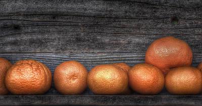 Photograph - California Mandarins by Bill Owen