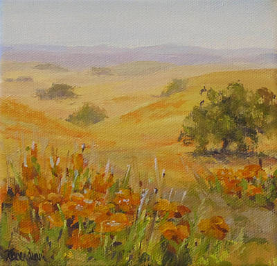 Painting - California Memory by Karen Ilari
