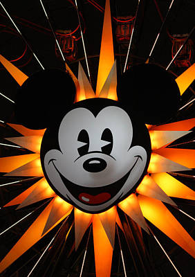 Photograph - California Mickey by David Nicholls