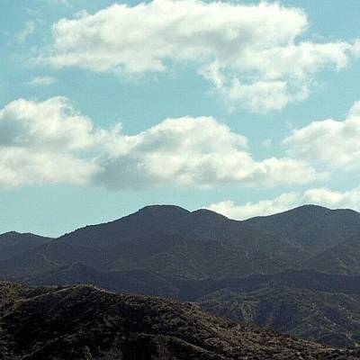 Truck Photograph - California Mountain Scape by Kelli Stowe