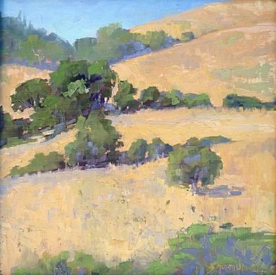 Painting - California Oaks by Sharon Weaver