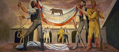 Destiny Painting - California Republic by Granger