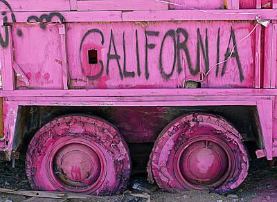 California Art Print by Ron Regalado