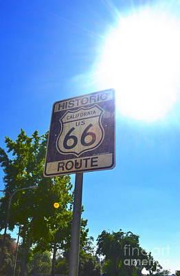 California Route 66 Art Print