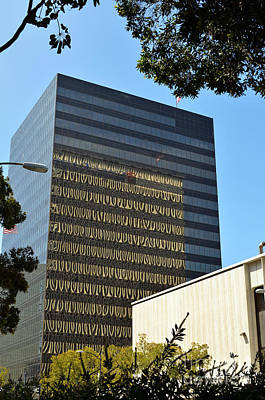Digital Art - California San Diego Office Building by Eva Kaufman