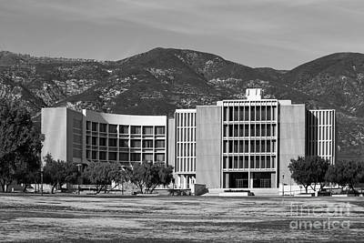 Photograph - California State University San Bernardino Pfau Library by University Icons