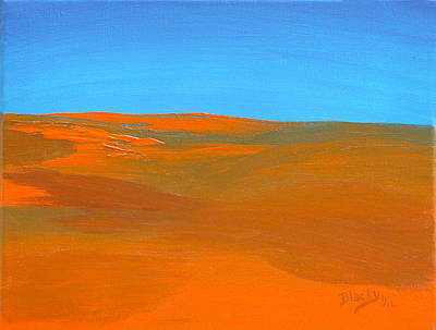 Painting - California Summer by Donna Blackhall