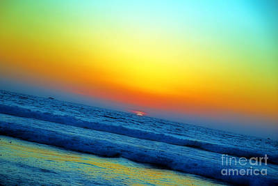 Photograph - California Sunset by Afrodita Ellerman